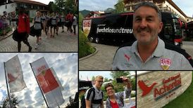 Ankunft im Trainingslager in Grassau