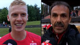 Die Interviews nach dem Testspiel in Pfullendorf
