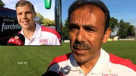 Interviews nach dem Test gegen St. Gallen