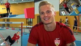VfB Leichtathlet Gregor Traber auf dem Weg nach Rio